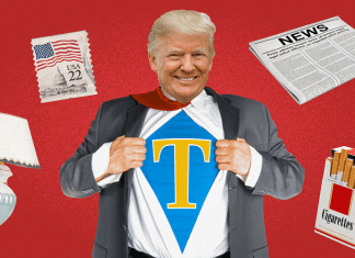 donald trump tariff man fact check 2018 images
