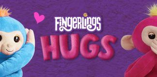 fingerlings hugs bella lush baby monkey for young girls wowwee gifts