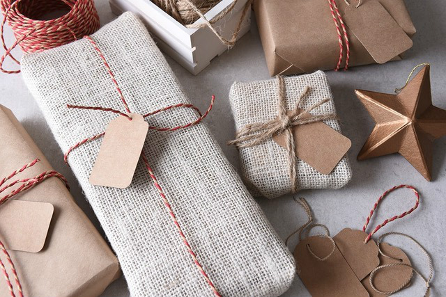 forget tape eco friendly twine wrapped holiday gifts