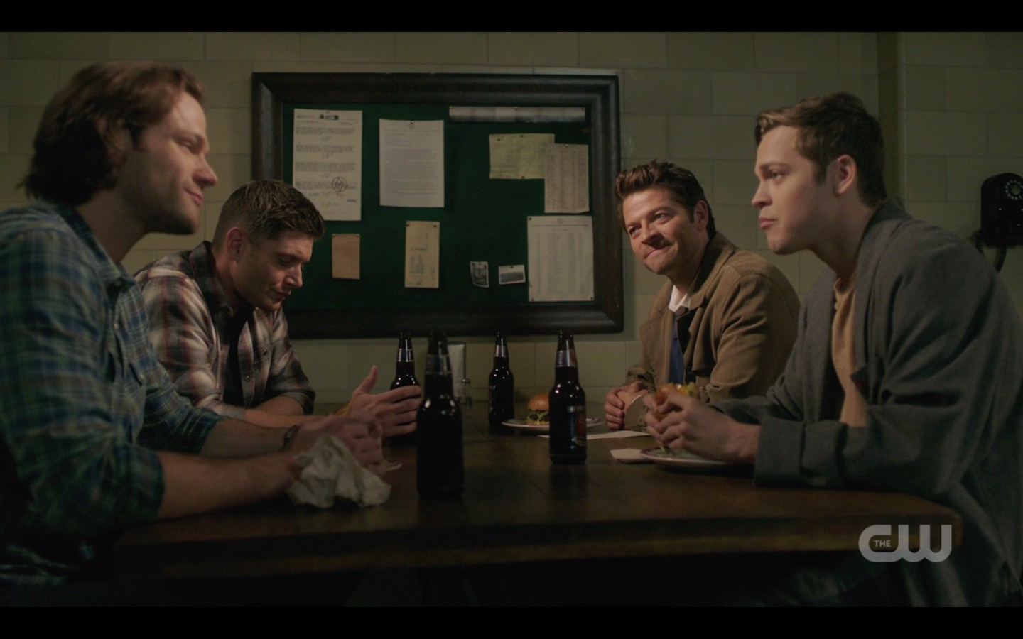 jack talking to sam dean winchester over beer 1408