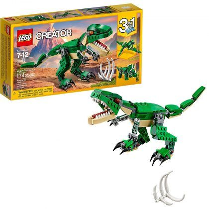 lego creator mighty dinosaur builder hottest young boys toys