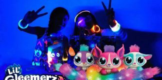 lil gleemerz glow in the dark girls toys reviews