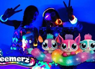 lil gleemerz glow in the dark girls toys reviews
