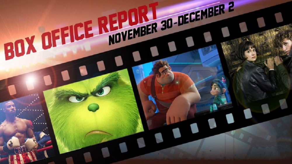 ralph breaks the internet box office winner december 2018