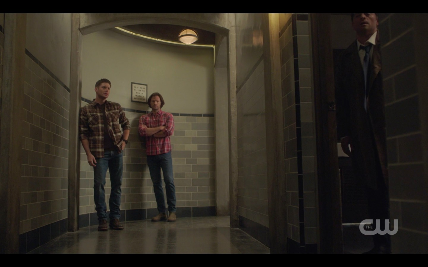 sam dean winchester at hospital with jack and dad 1407