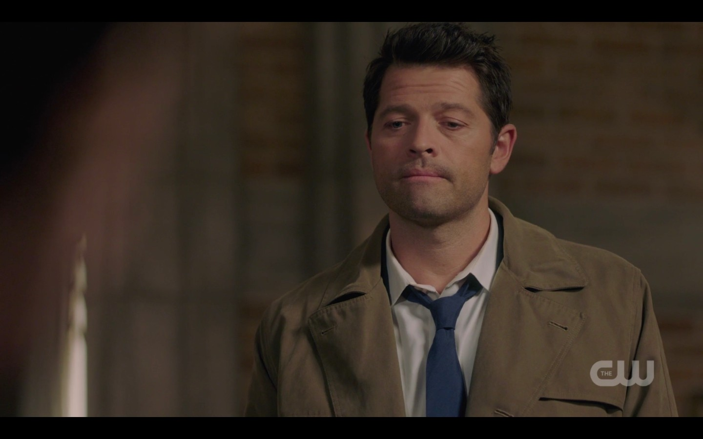 spn 1407 castiel with trenchcoat