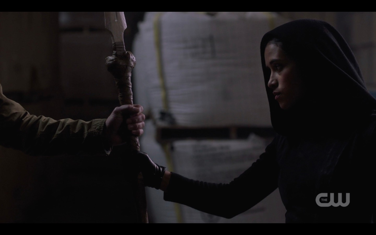 spn 1409 kaia hands dean winchester the spear