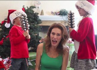stressed out family fighting at christmas