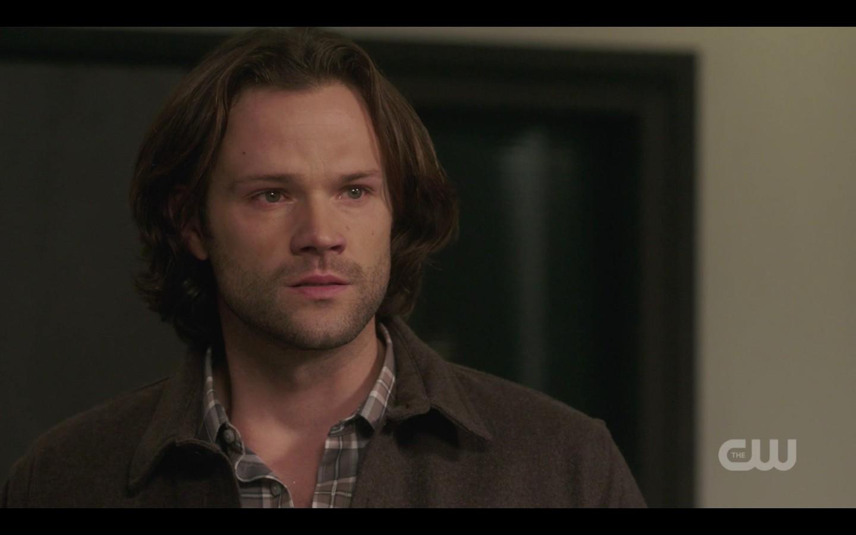 supernatural 1409 sam winchester devastated with dean