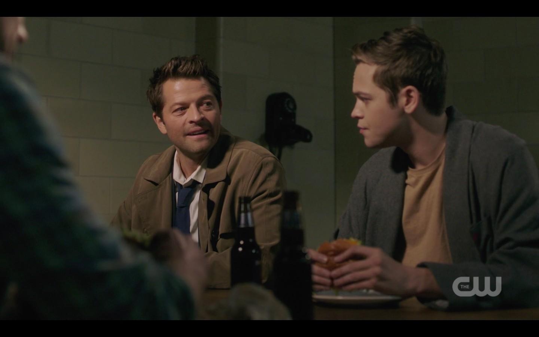 supernatural jack with three dads castiel sam dean winchester 1408