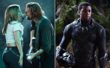 a star is born black panther pga nominations blackkklansman 2019 list