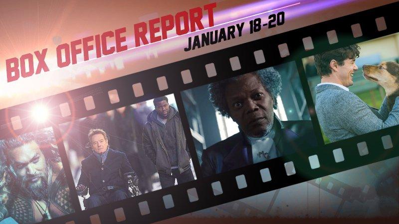 box office charts january 18 20 glass aquaman upside