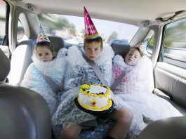 children wrapped in bubble wrap from overprotective parents