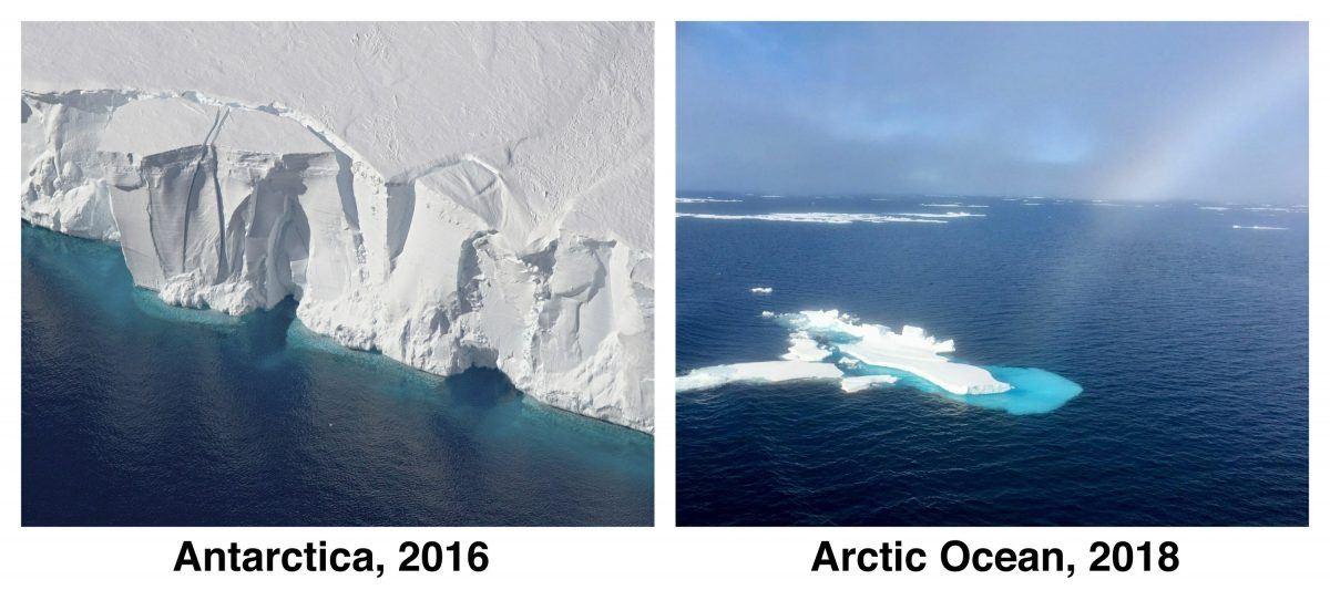 getz ice shelf disappears fake news