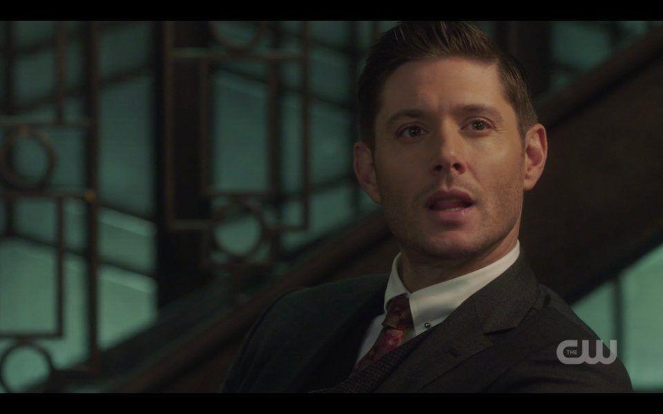 michael using dean winchesters body for sam spn 1410