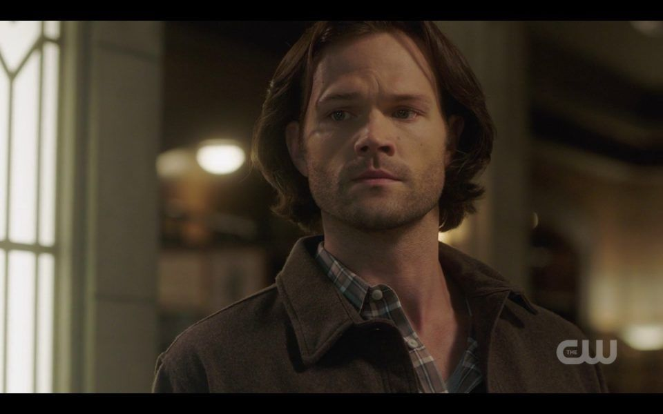 sam winchester looking at dean face spn 1410