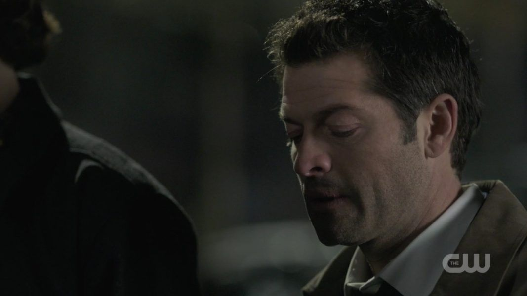 SPN Castiel reacts to dean about leaving 1412