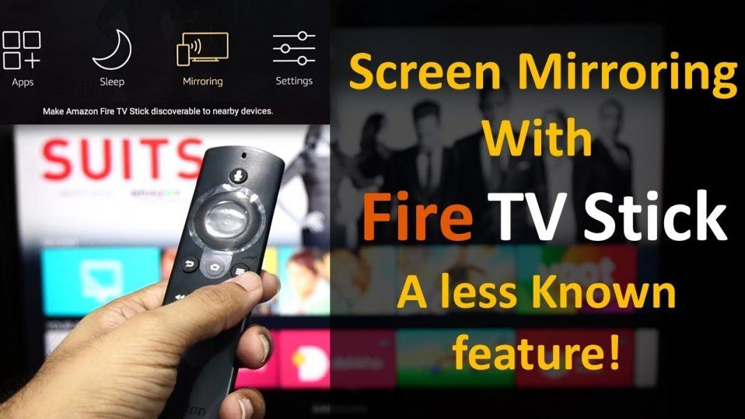 amazon firestick allows display mirroring too