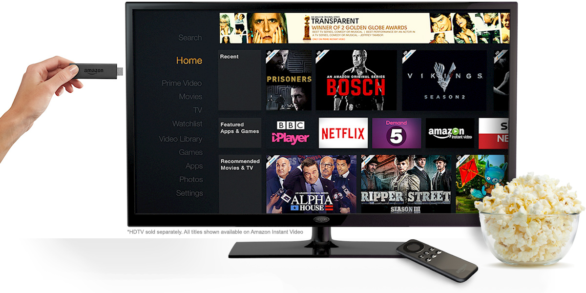 amazon firestick for streaming tv shows and movies