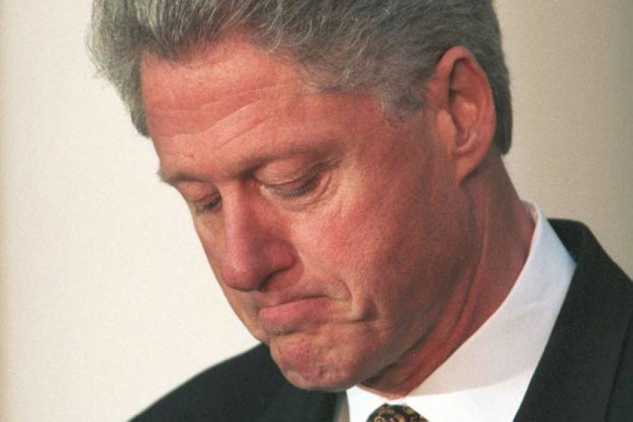 Bill Clinton lied about Monica Lewinsky and was impeached.