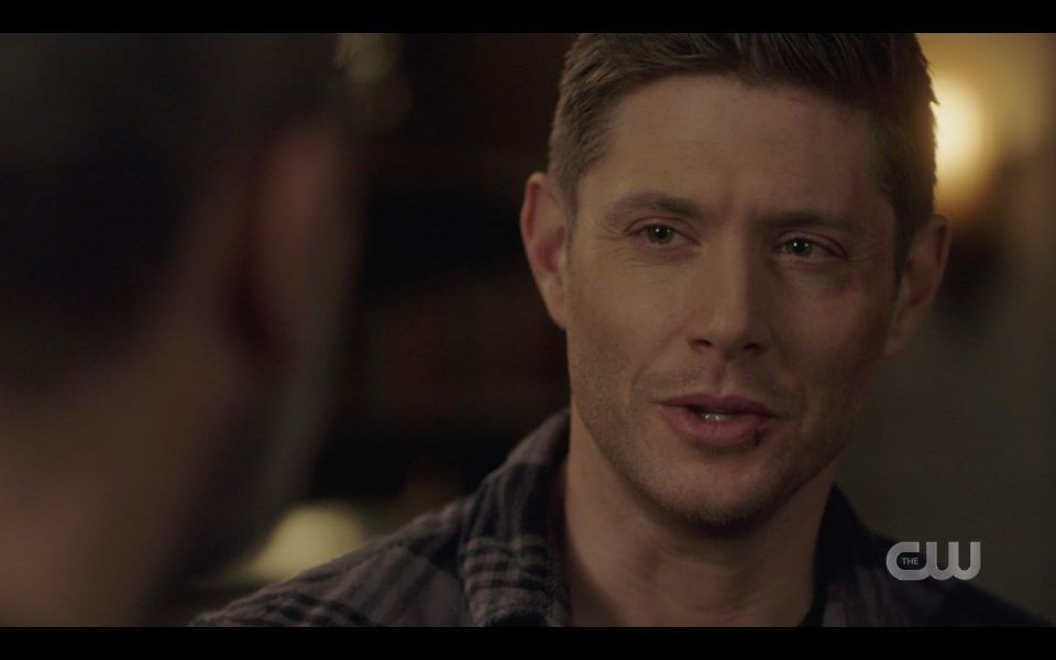 dean winchester responds to john being proud of him spn 1413