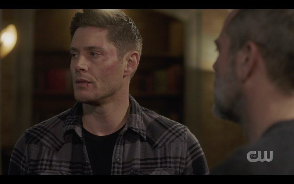 dean winchester with john me or your mom not a choice spn 1413dean winchester with john me or your mom not a choice spn 1413