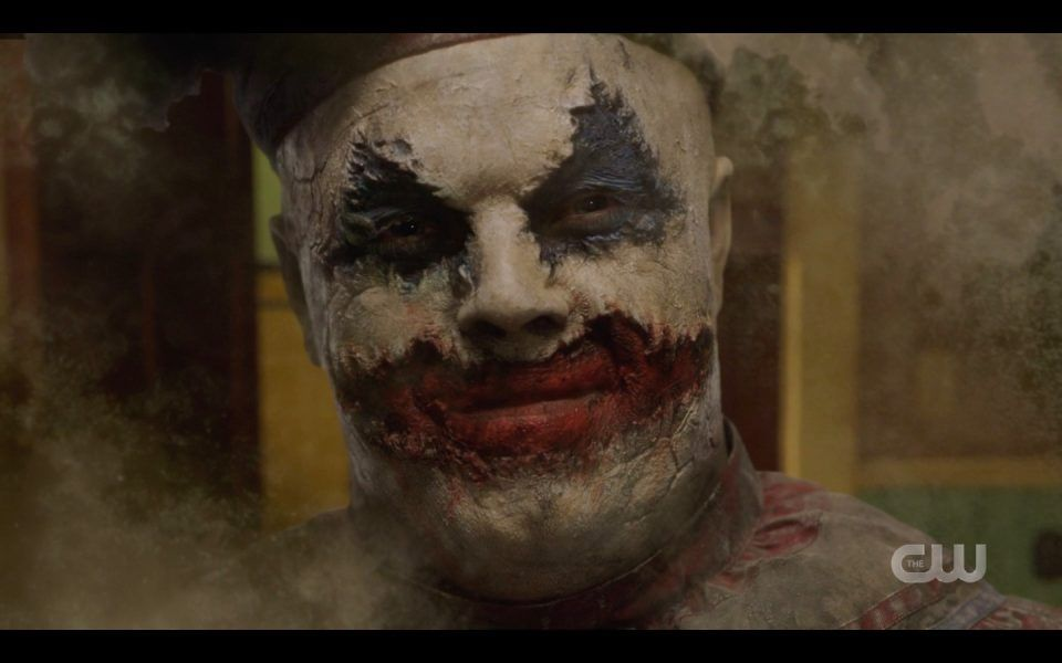 john gacy looking killer clown spn 1413