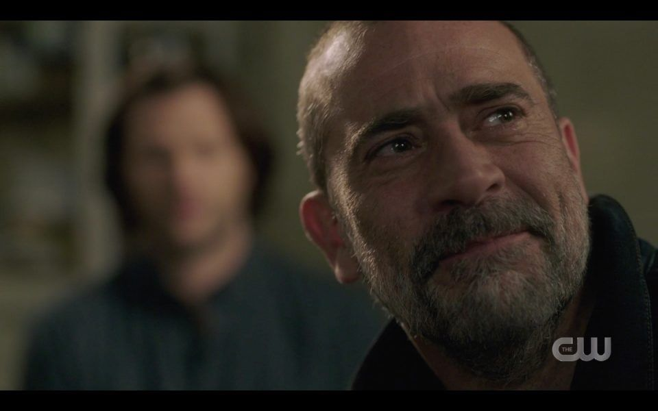 john winchester reacts to seeing mary again tears spn 1413 lebanon