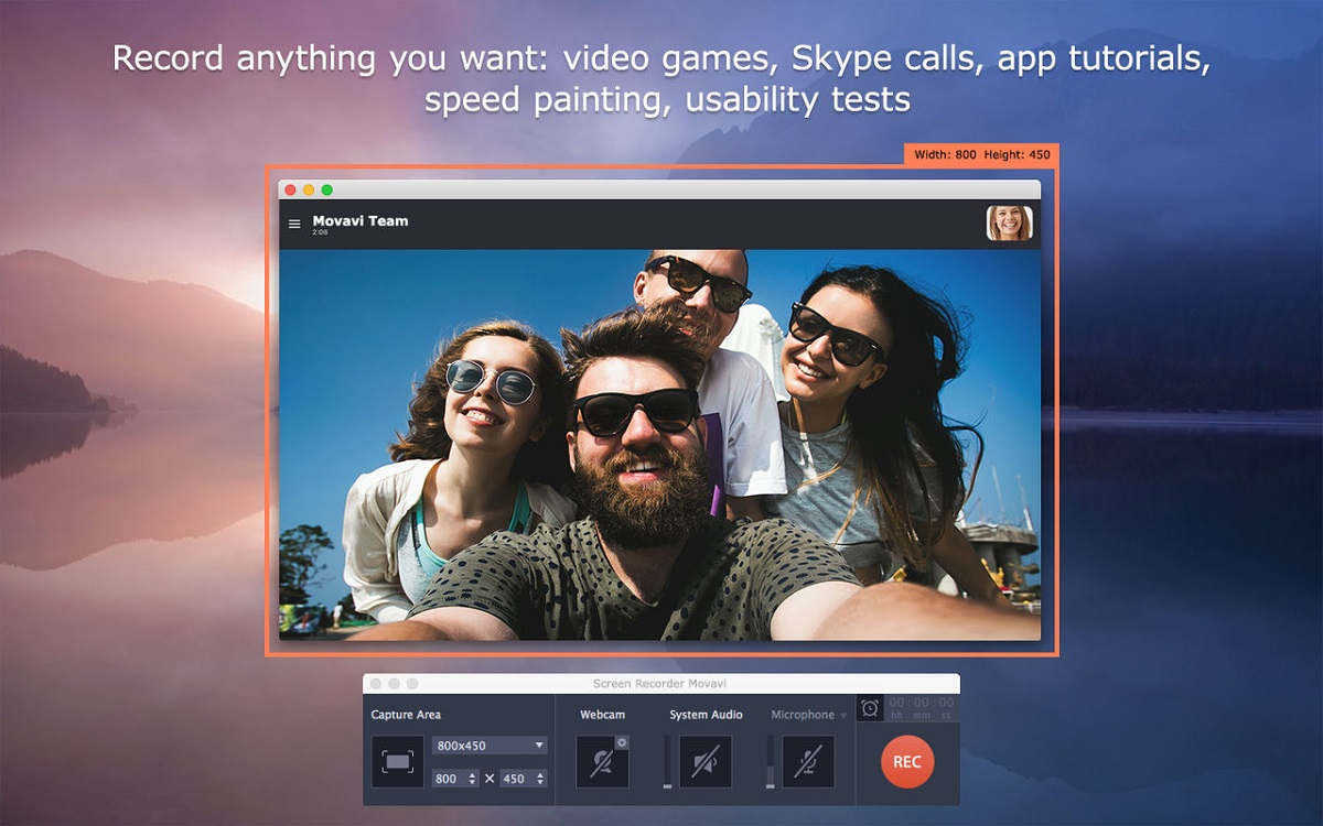 easy to use screen captures with beat movavi screen recorder studio 2019