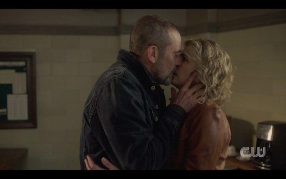 sam dean see john kissing mary winchester hard spn 1413