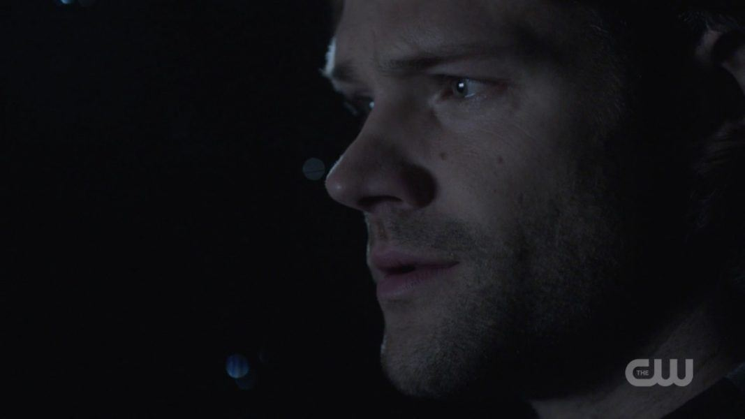 sam winchester in impala talking deep love to dean spn 1412