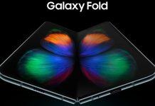 samsung galaxy fold smartphone opened up 2019 images