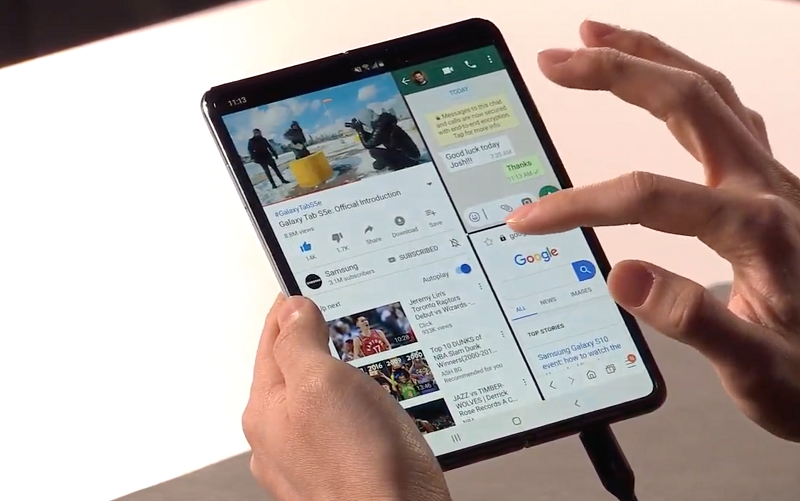 samsung galaxy fold tablet