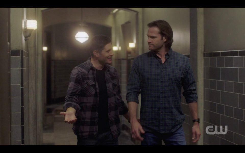 spn 1413 dean excited wtih sam to have family back winchester