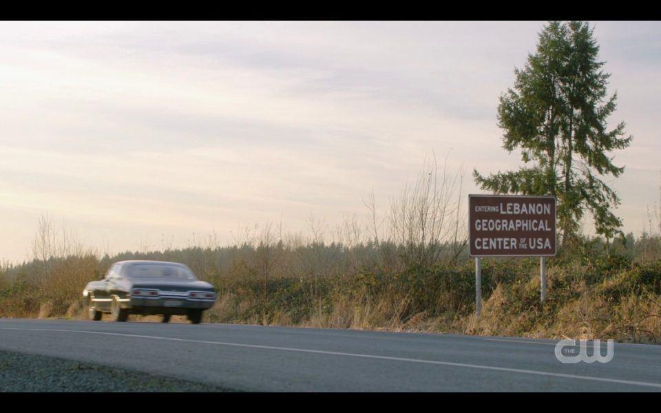 spn 1413 lebanon baby impala driving off