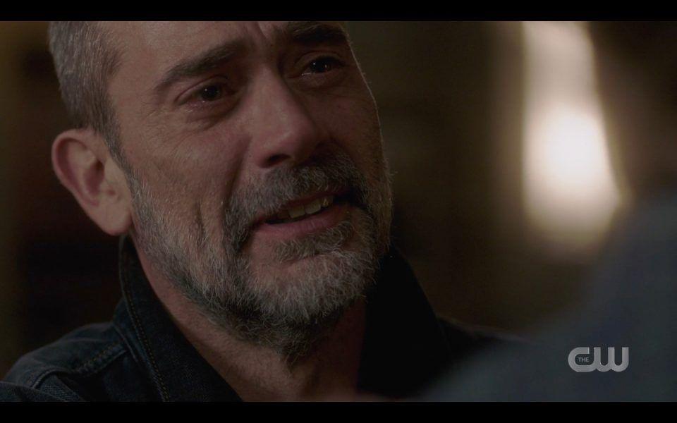 spn lebanon john winchester crying apologizing to sam