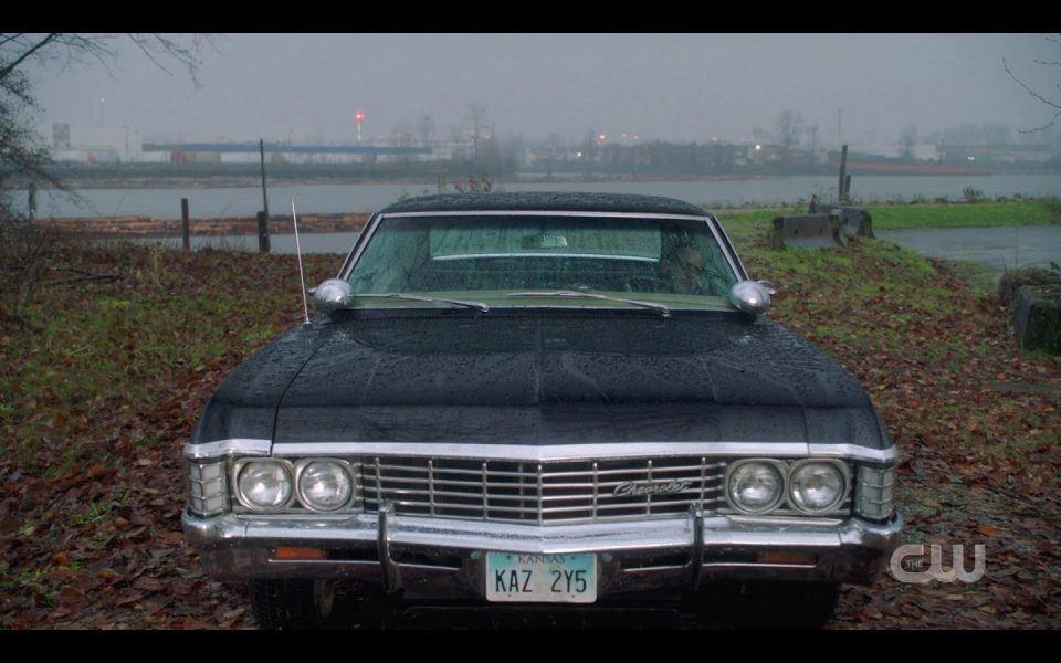 spn lebanon john winchester wakes up in impala baby 2003
