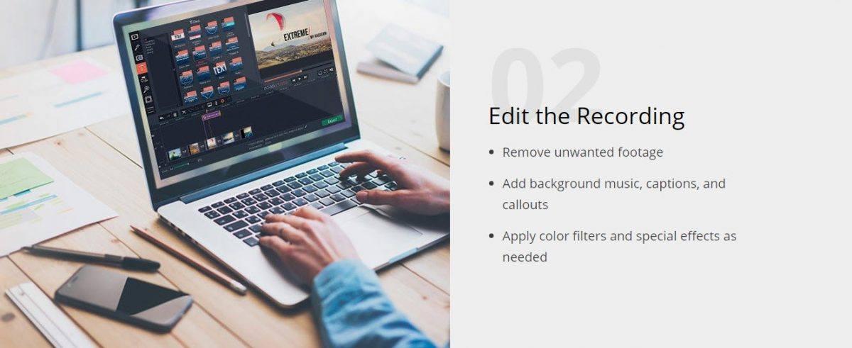 step 2 editing recording