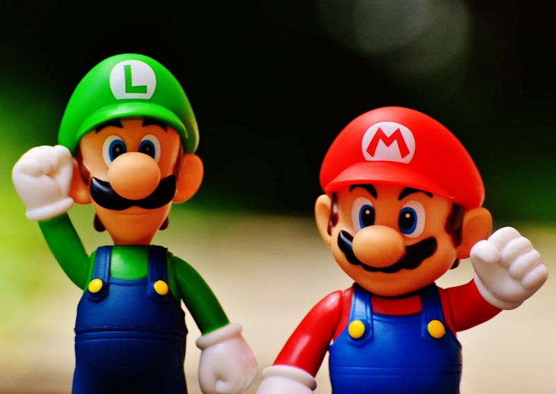 super mario brothers hands up for nintendo switch