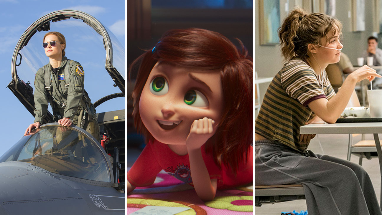 Captain Marvel, Wonder Park and Five Feed Apart compete for box office domination.