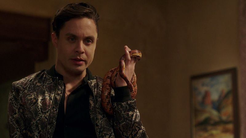 Naoah Phillippe Bowgen in Supernatural 1414 episode