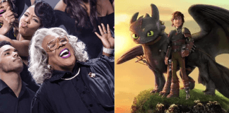 box office report how to train your dragon vs madea 2nd place 2019 images