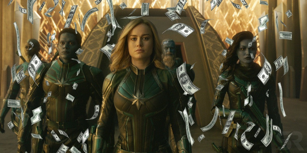 captain marvel breaks box office records history with women power 2019 images
