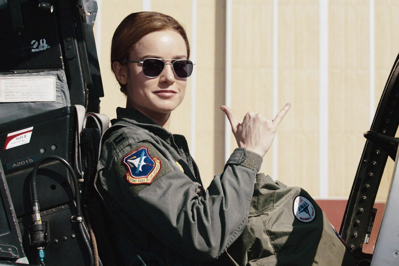 captain marvel brie larson dominates box office bigger in second week images 2019
