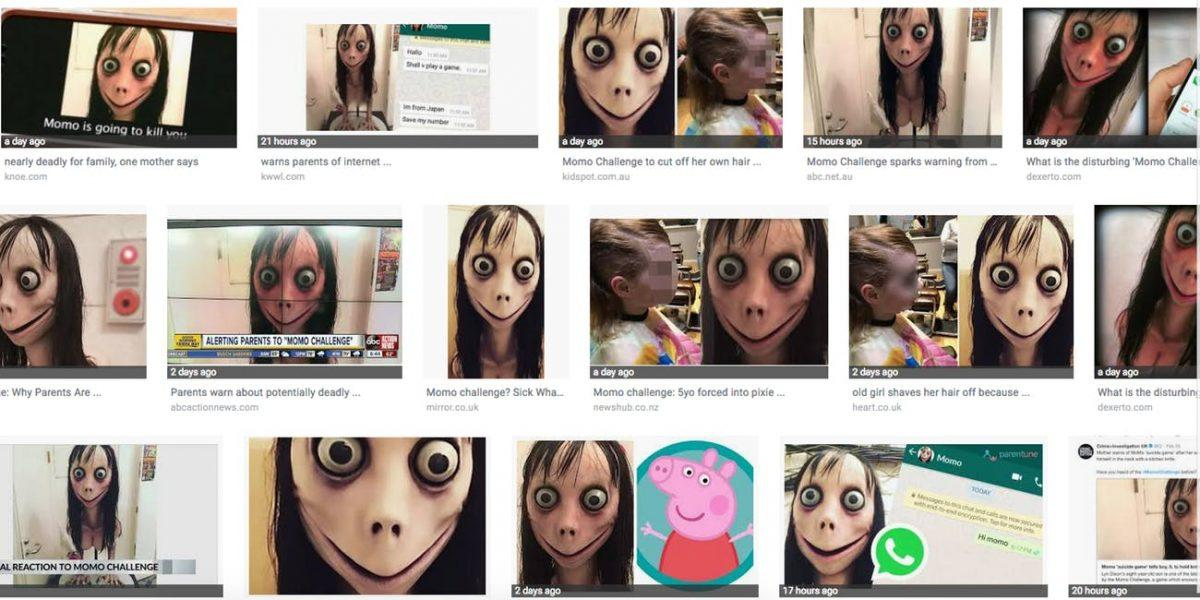 Evolution of an internet hoax aka momo challenge