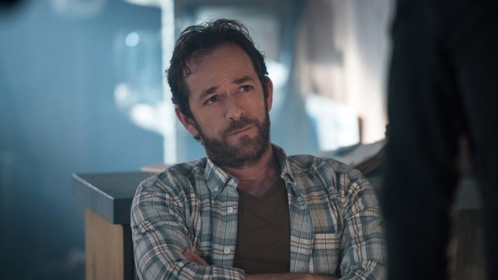 Luke Perry on Riverdale show