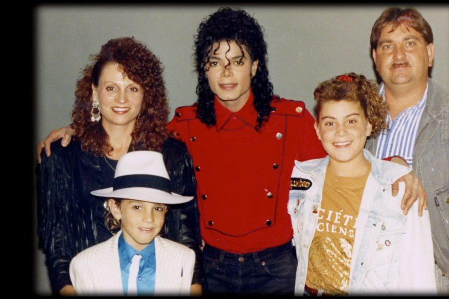 James Robson family with Michael Jackson from Leaving Neverland