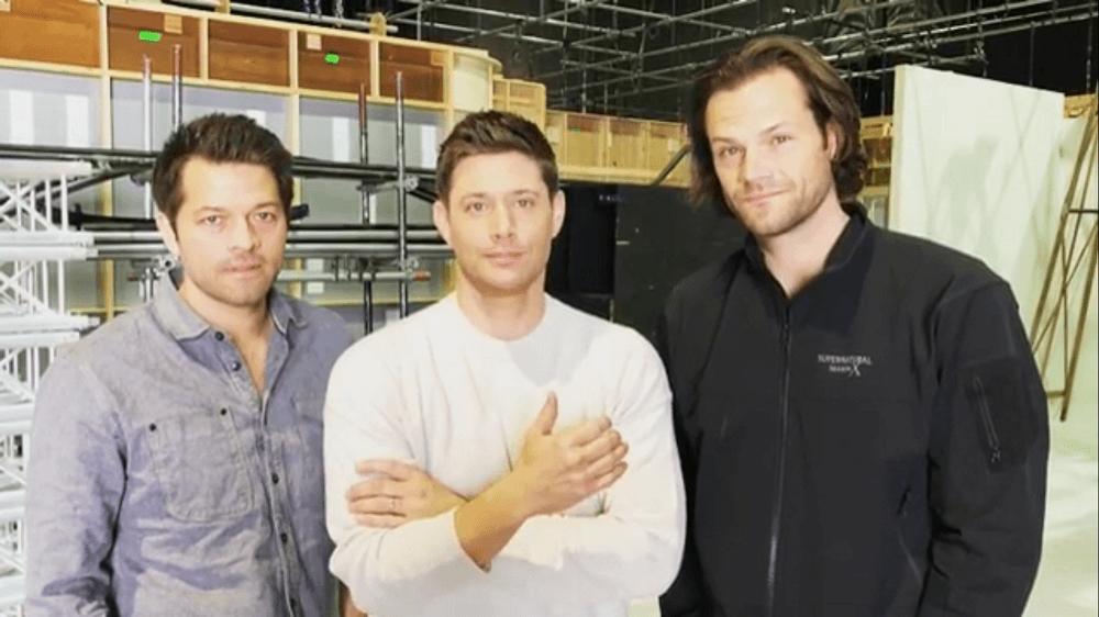 Misha Collins, Jensen Ackles, Jared Padalecki announce Supernatural ending with Season 15.