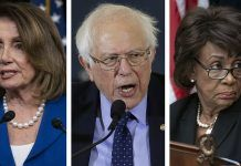 nancy pelosi, bernie sanders maxine waters fake news story of passing only six bills 2019 images