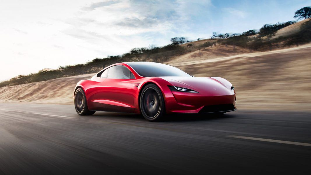 New Tesla battery operated car brings electric vehicles mainstream.
